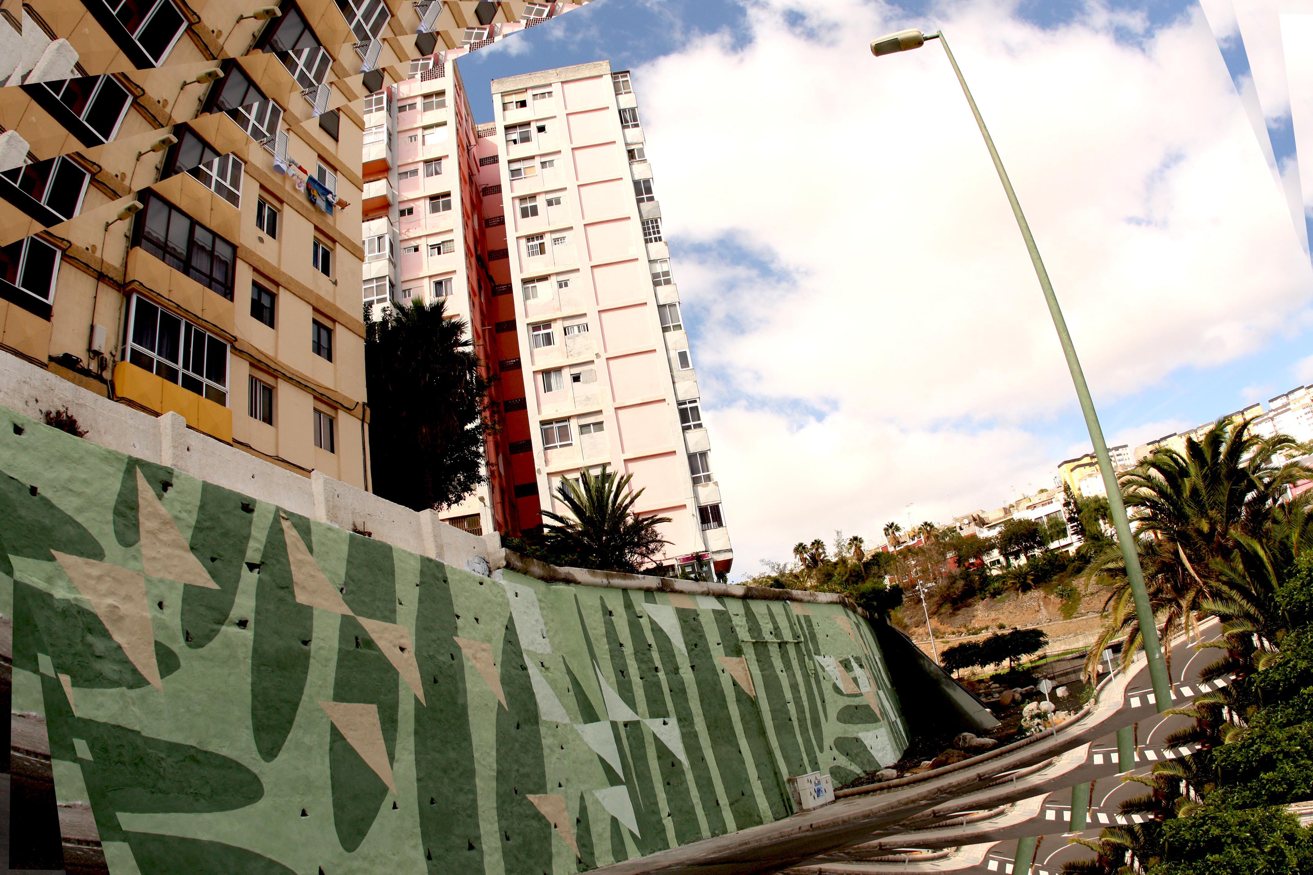 Bombardearte Muro Contencion